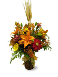 Fields of Thanks from Ladybug's Flowers & Gifts, local florist in Tulsa