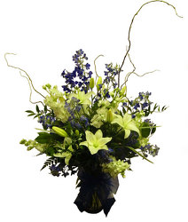 Sapphire Serenade  from Ladybug's Flowers & Gifts, local florist in Tulsa