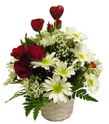 Love and Daisies from Ladybug's Flowers & Gifts, local florist in Tulsa