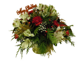 Holiday Treasure from Ladybug's Flowers & Gifts, local florist in Tulsa