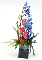 Art in Bloom from Ladybug's Flowers & Gifts, local florist in Tulsa
