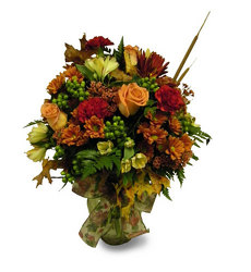 Autumn Splendor  from Ladybug's Flowers & Gifts, local florist in Tulsa