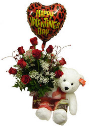 Ultimate Valentine Special from Ladybug's Flowers & Gifts, local florist in Tulsa