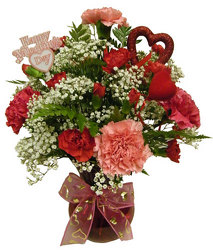 Charming Carnations from Ladybug's Flowers & Gifts, local florist in Tulsa