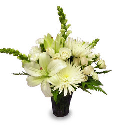 Elegant  Serenity from Ladybug's Flowers & Gifts, local florist in Tulsa