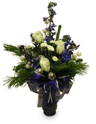 Winter Wishes from Ladybug's Flowers & Gifts, local florist in Tulsa